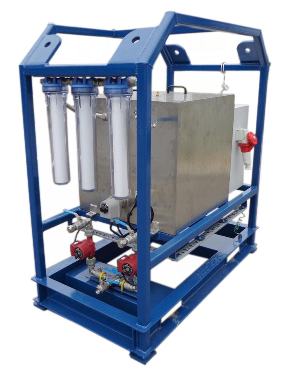 Chemical Flushing Unit