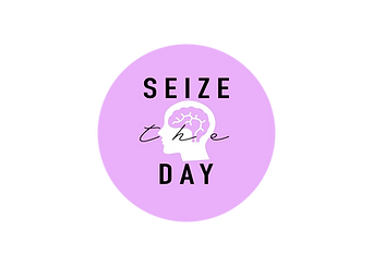 Seize The Day Logo Sticker
