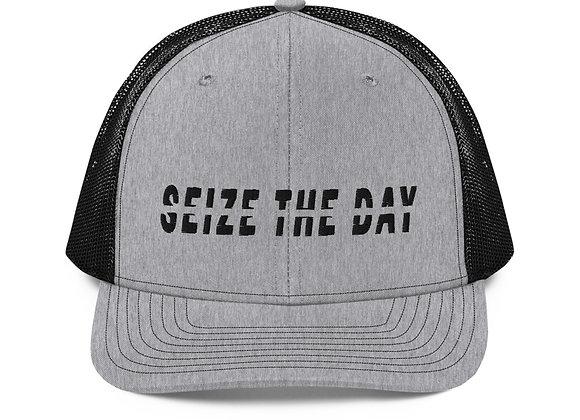 Seize the Day Trucker Cap