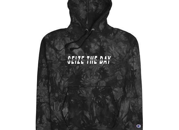 Unisex Seize the Day tie-dye hoodie