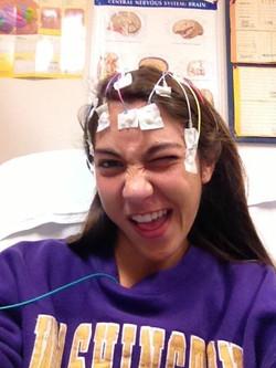 Green EEGs and Ham