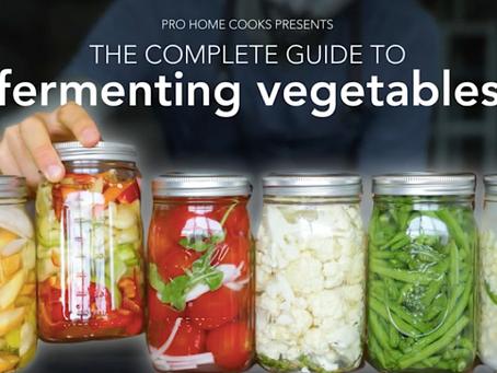 fermenting veggies 101