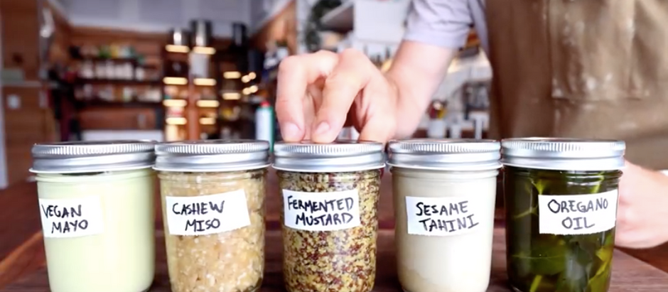 Two Ingredient Condiments Anyone Can Make