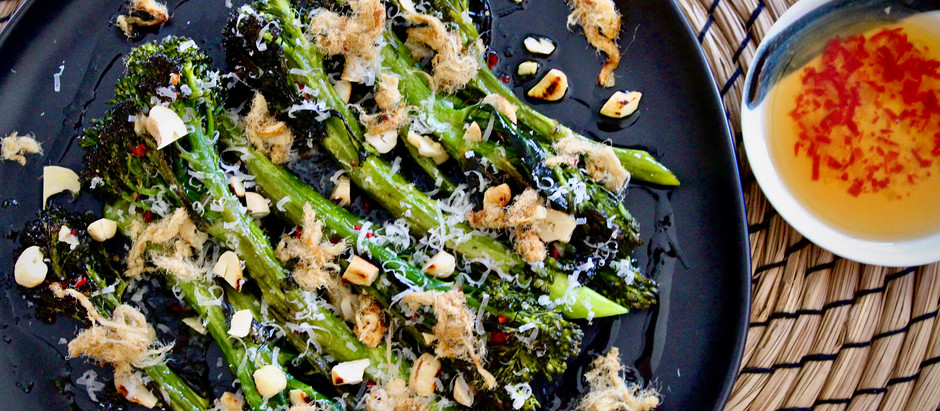 Sweet, Sour, Salty, and Umami – Nuoc Cham Broccolini