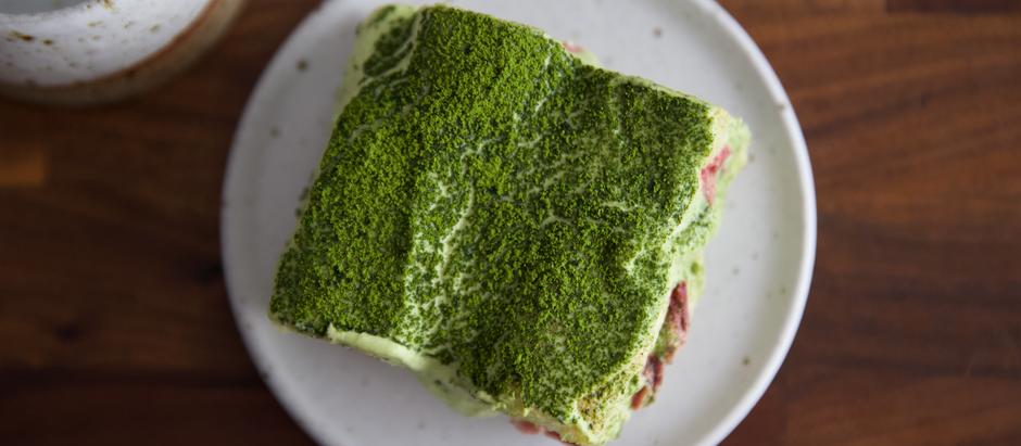 Matcha Lovers Rejoice for a Twist on a Classic Italian Dessert