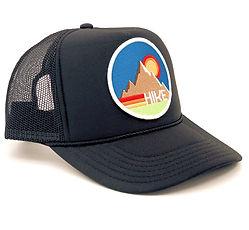 Port Sandz Hike trucker hat - Onyx Black