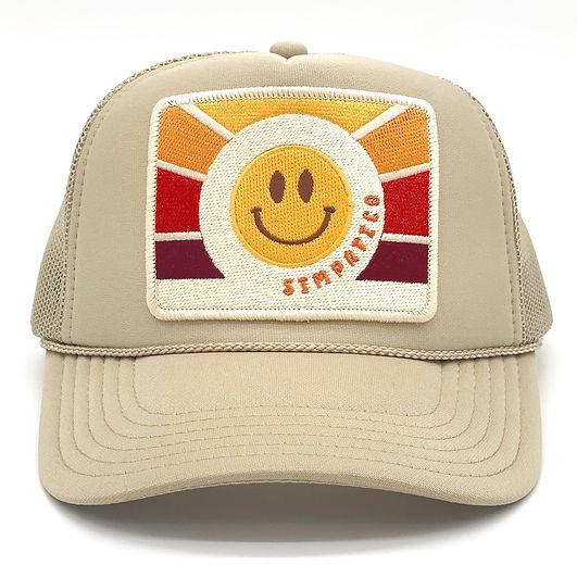 unique trucker hat, hats, women's hats, clothing, accessories, beachwear