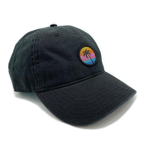 Palm Dad Hat - Black