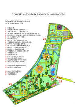 Concept Vredespark, Eindhoven