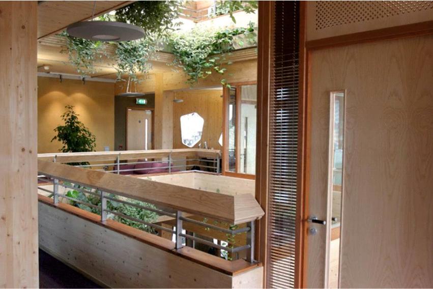 Interior, Gaia Ecotecture