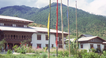 Chris Butters Punakha hospital