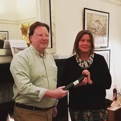 Sandy award giving