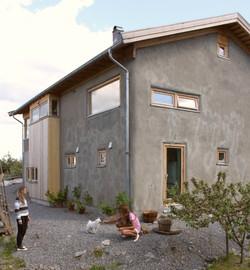 Straw bale house on Nesodden