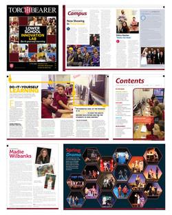 Quarterly School Magazine