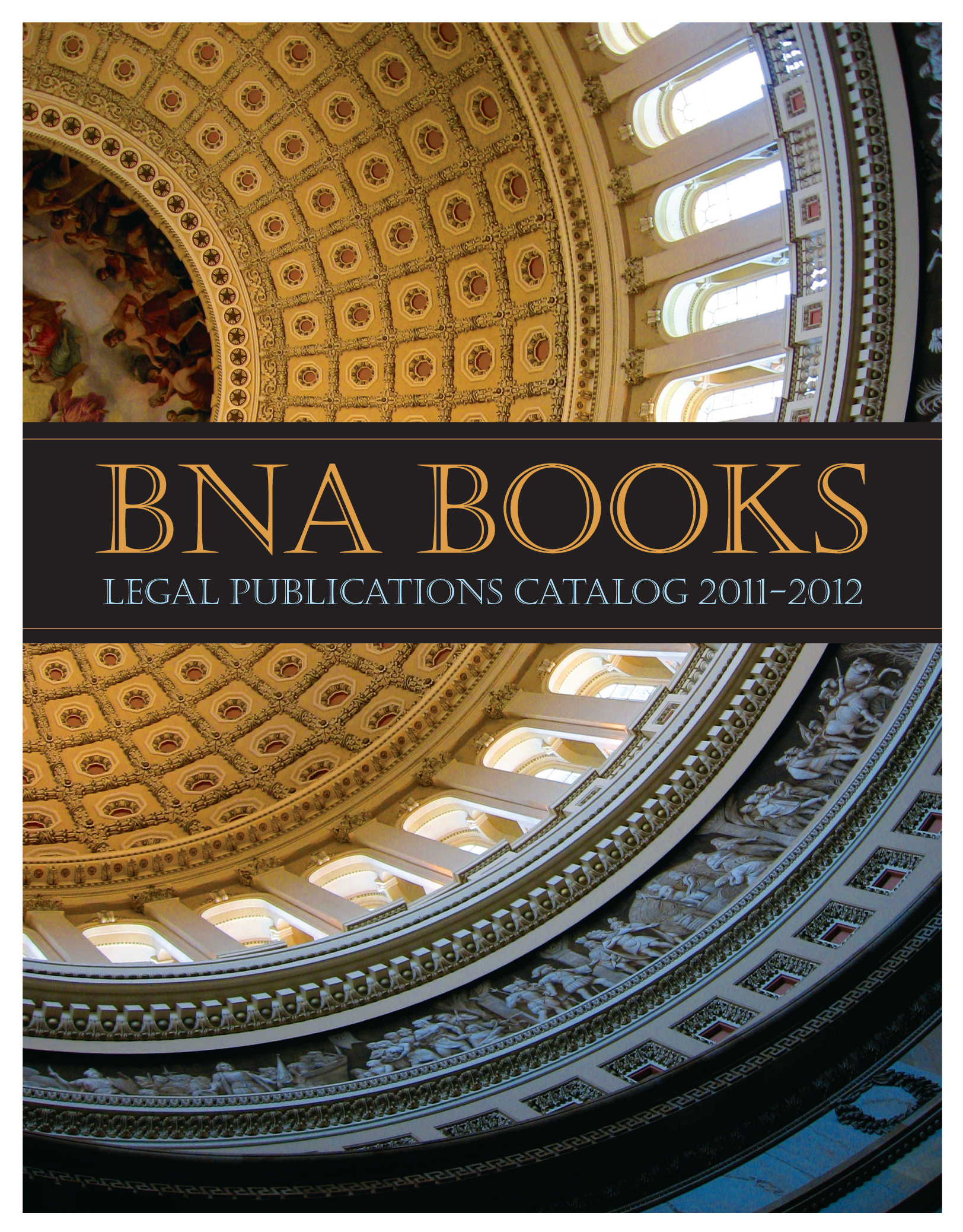 BNA Books Catalogue Cover