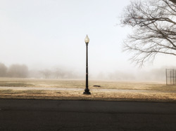 Foggy Day on the Mall