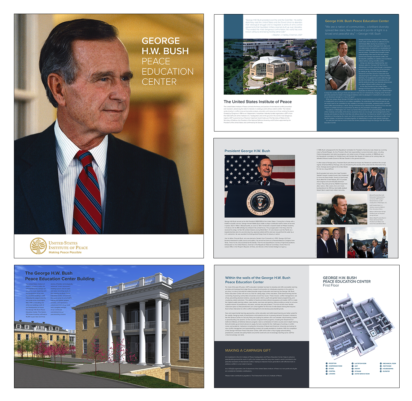 USIP George H.W. Bush Brochure