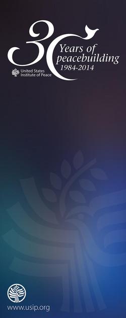 USIP 30th Anniversary Banner