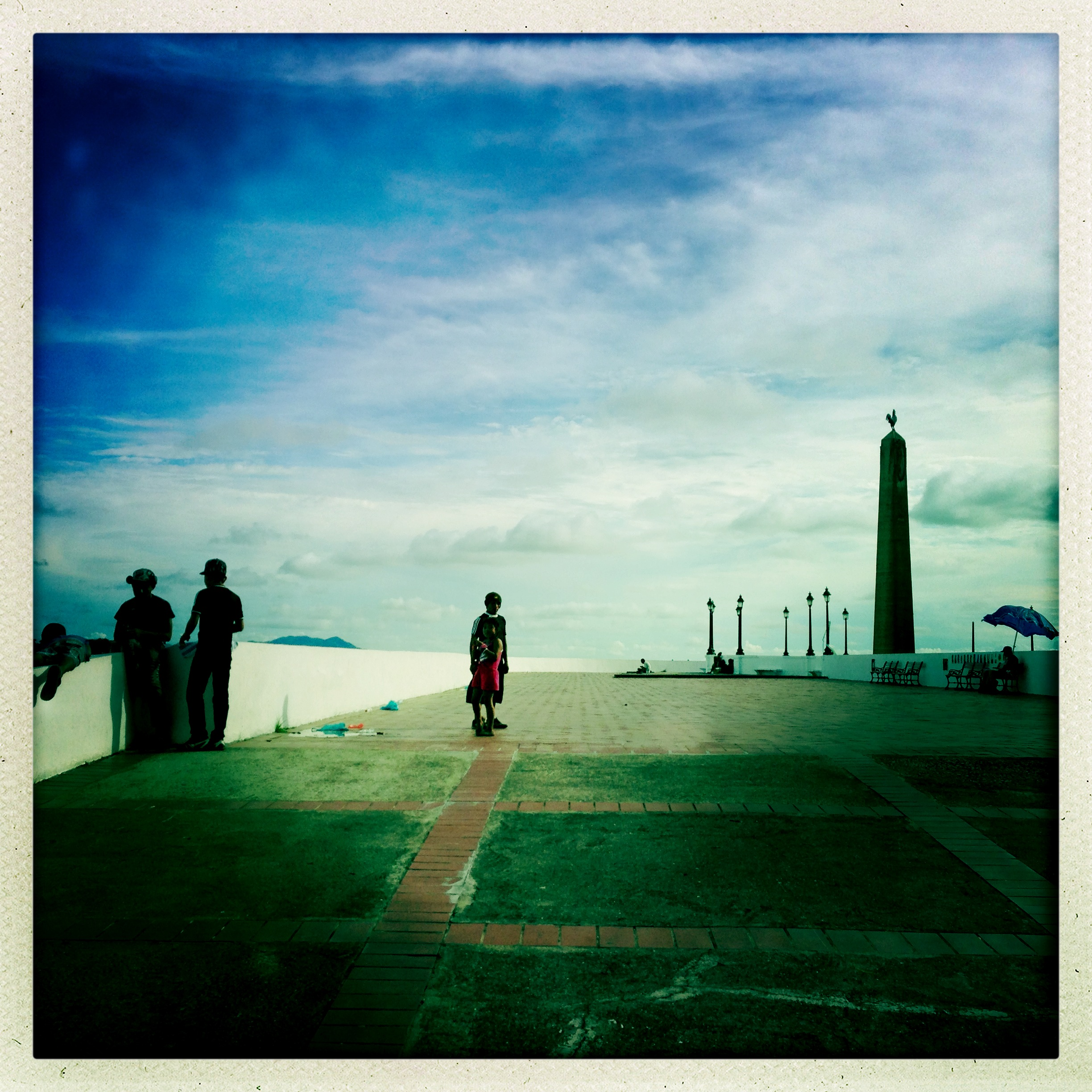 On the Malecon, Panama City, Panama