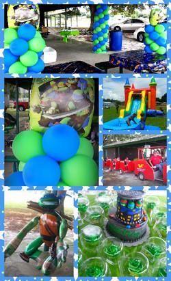 Ninja Turtle Kids Party