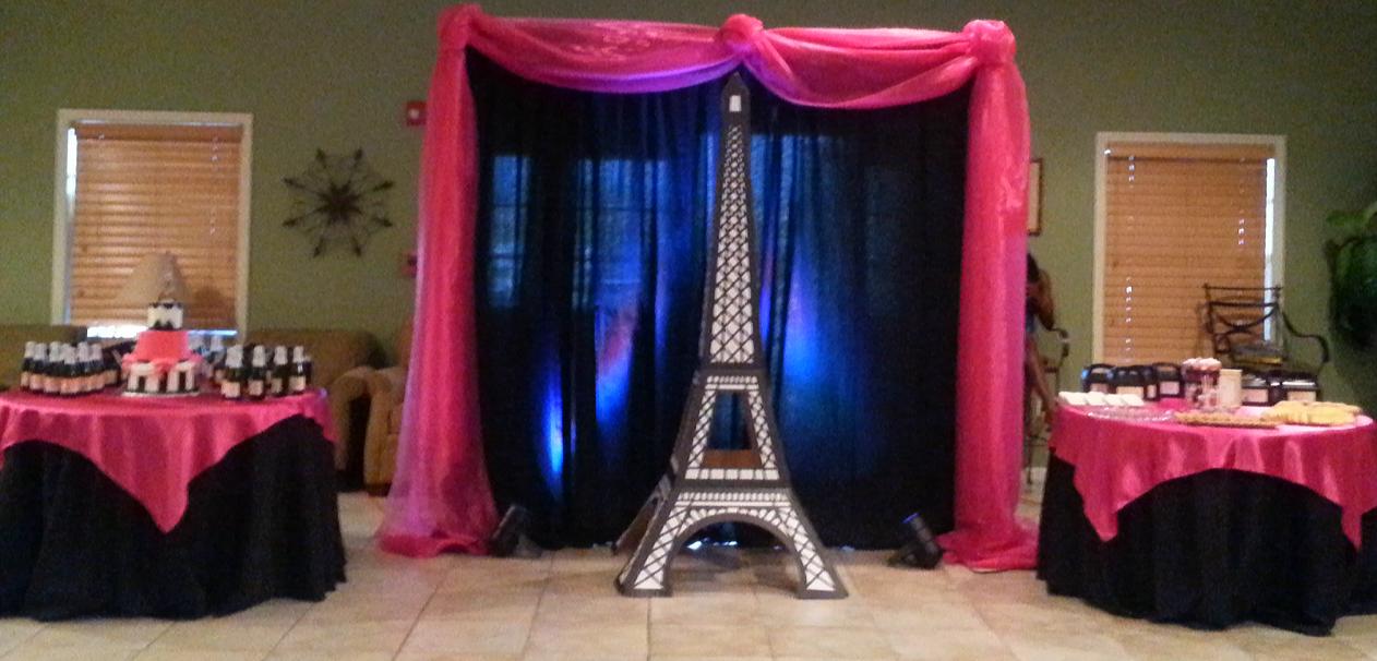 Paris Theme..Birthday Party
