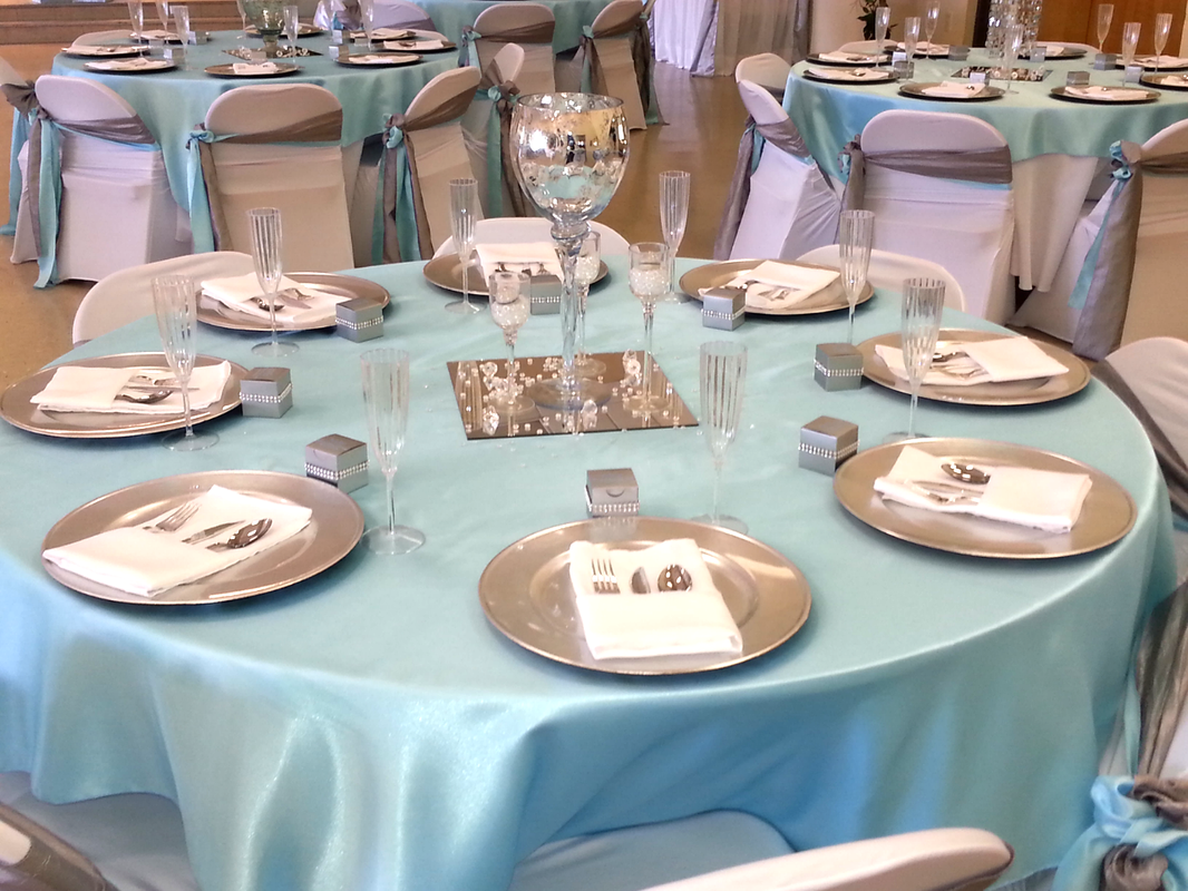 Elegant Baby Shower Table View