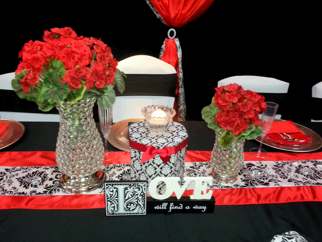 Birthday Party Headtable Front View