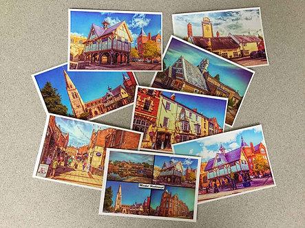 Iconic Harborough Postcards