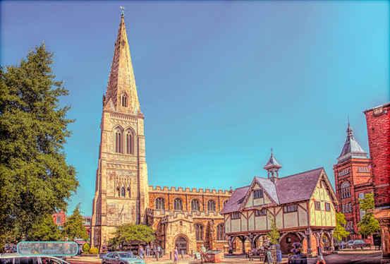 Market Harborough St Dionysius Church