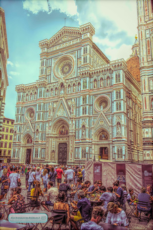 Santa_Maria_Flore Cathedral Florence Italy