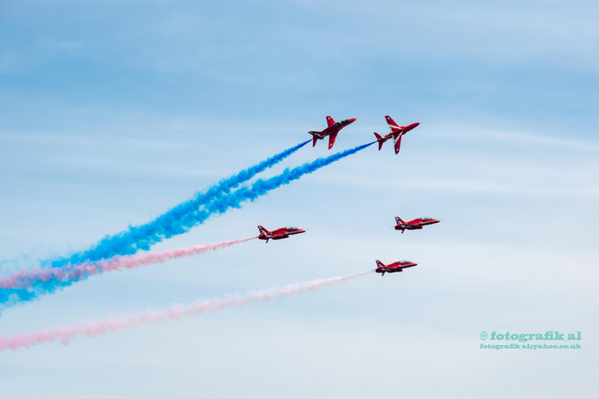 Cosford Air Show Red Arrows