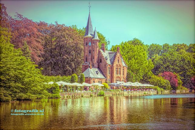Kasteel Minnewater Restaurant Bruges Flanders