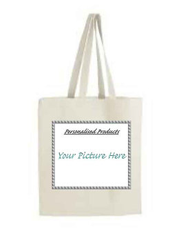 Personalised cotton Tote Shopping Bag