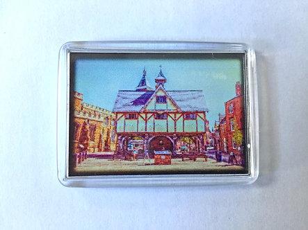 Iconic Harborough FotoArt Fridge Magnet (Mini)