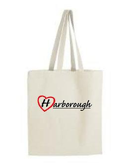 Love Harborough Tote  Cotton Shopping Bag