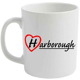 Love Harborough Printed Mug