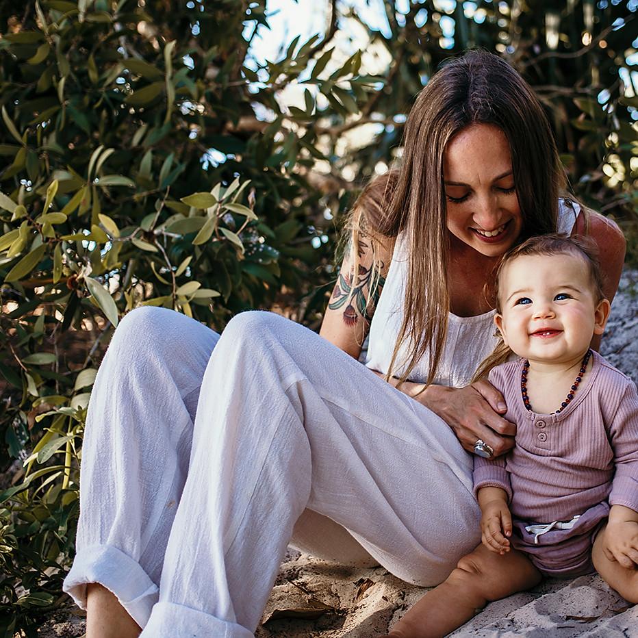 Katie & Maiya / Motherhood