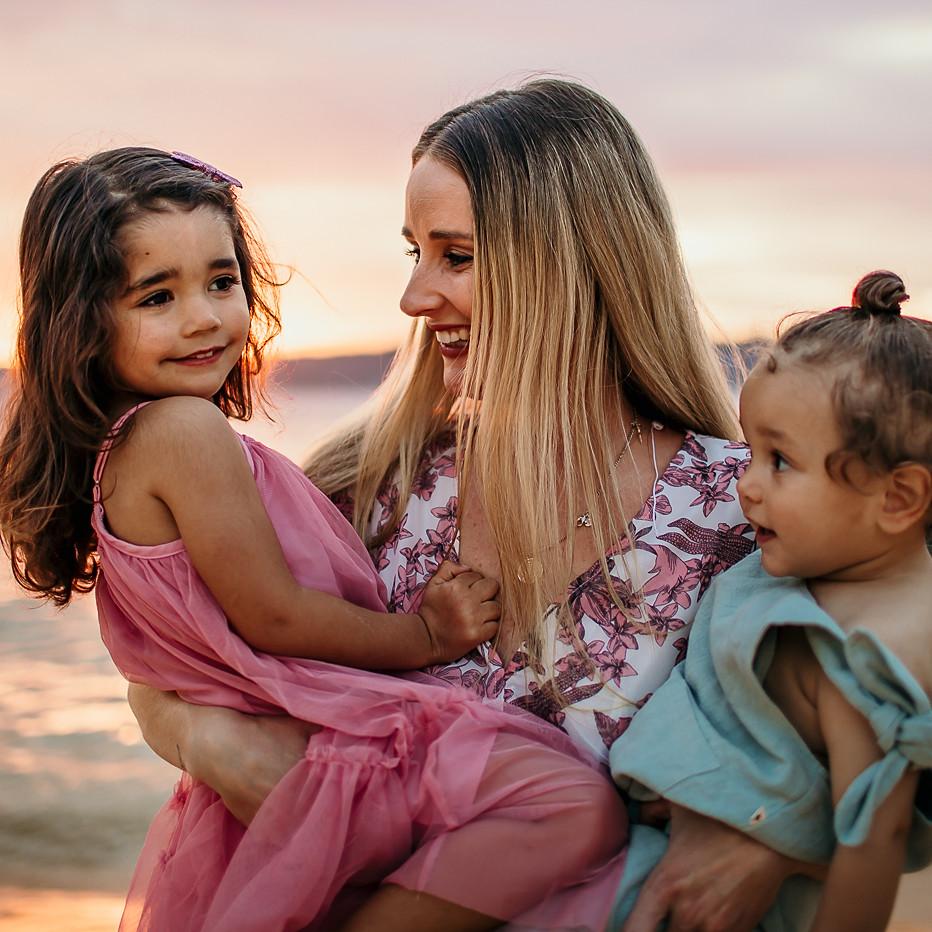Steph, Zyla & Huxley / Motherhood