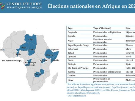 Élections en Afrique en 2021