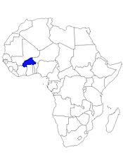 Carte du Burkina Faso Afrique.jpg