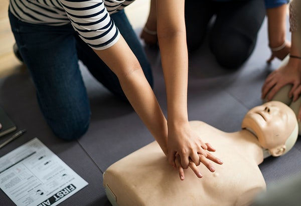 Adult First Aid/CPR/ AED Training