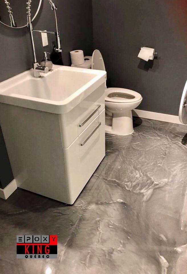 Époxy King Métallique : Salle de bain