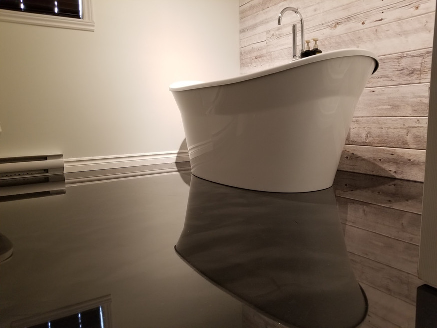 Epoxy king québec: Salle de bain