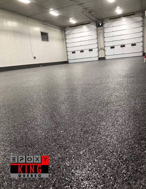 Epoxy King Québec: Garage commercial