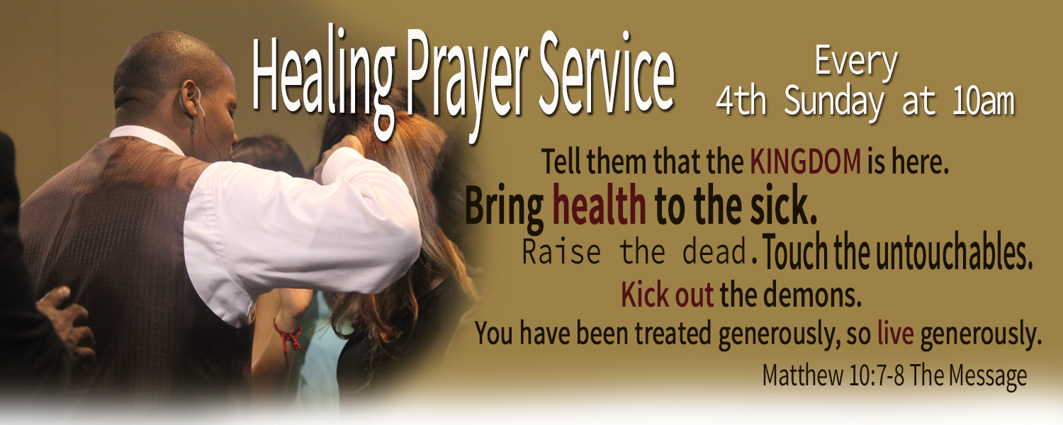 4th Sunday Healing Service