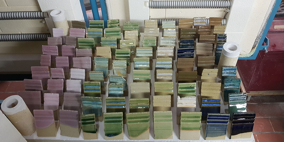 De wondere wereld van het glazuren Met Caroline Kesteleyn.