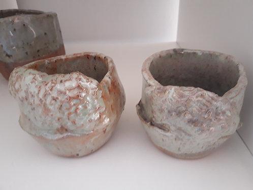 set potten van de zee