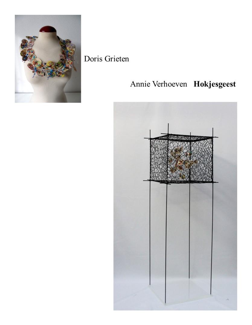 confrontations Doris Grieten Annie Verho