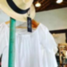 Panama Hat and White, Tropical Shirts