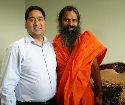 Baba Ramdev, world renowned Yoga Guru